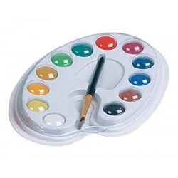 CAMEL WATER COLOUR CAKES(12 SHADES)