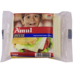 AMUL PROCESSED CHEESE SLICE ( 10 NOS)