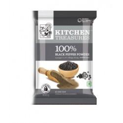 KITCHEN TREASURES BLACK PEPPER POWDER 50G