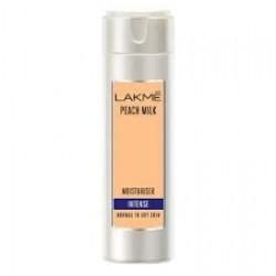 LAKME PEACH MILK MOISTURISER INTENSE 120 ML (NORMAL TO DRY SKIN)