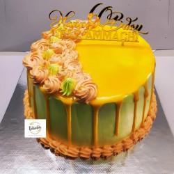 MANGO TRUFFLE CAKE 1 KG (Pre-Order Only)