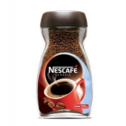 NESCAFE CLASSIC PURE COFFEE POWDER -BOTTLE [200 G]- FREE FROTHER INSIDE