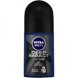 NIVEA MEN DEEP IMPACT DEODORANT 50 ML