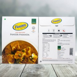 FEASTEZ PANEER PASANDA285G (JUST HEAT & EAT)
