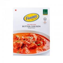 FEASTEZ BUTTER CHICKEN 285G (JUST HEAT & EAT)