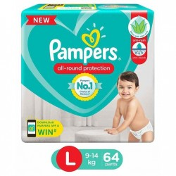 PAMPERS ALL ROUND PROTECTION L (9-14KG/23PANTS)
