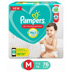 PAMPERS ALL ROUND PROTECTION M (7-12KG/50 PANTS)