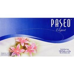 PASEO TISSUE BOX 100 PULLS 2 PLY