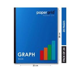 PAPERGRID GRAPH BOOK 28 PGS (28×22 cm)
