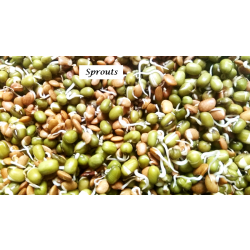MIXED SPROUTS 300G (GREEN GRAM, COWPEA, HORSEGRAM)