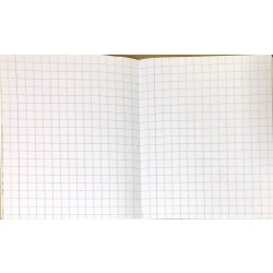 PAPERGRID MATHS SQUARE NOTEBOOK 172 PAGES (24 X 18CM)